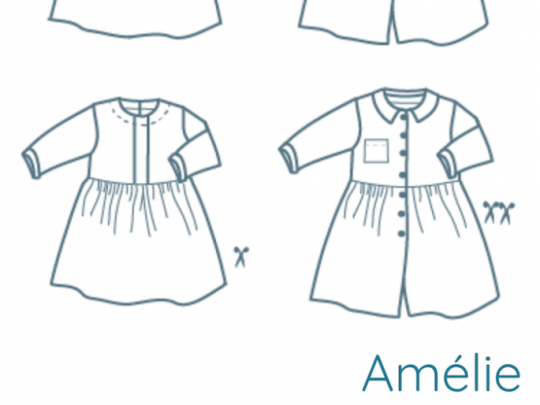 Patron de couture Amélie patroon