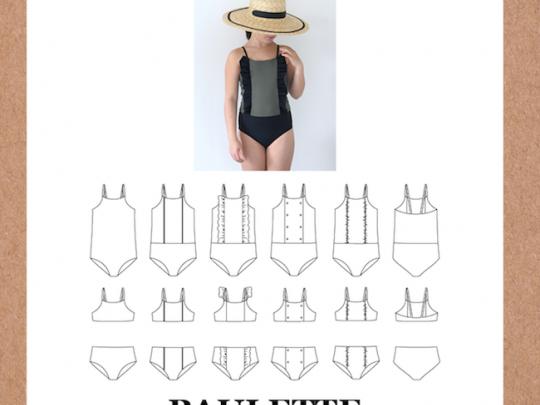 zwempak, bikini, paulette